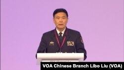 孫建國上將稱南中國海建設是為了履行國際義務 (攝影: 美國之音記者黎堡)