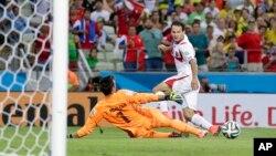 Costa Rica, a primeira surpresa do Mundial