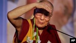 达赖喇嘛2016年12月9日在新德里