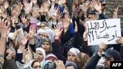 Nhiều người biểu tình ở Morocco đòi cải cách chính trị, 20/2/2011