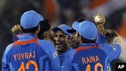 تیم ملی کریکت هند بر تیم پاکستان غلبه کرد