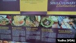 Kuliner di Solo (Foto: VOA/Yudha).