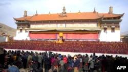 Tu viện Kirti trong tỉnh Tứ Xuyên