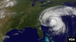 Satelitski snimci NASA-e ponajbolje pokazuju veličinu uragana