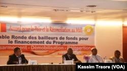 Une réunion du DDR à Bamako, au Mali, le 11 décembre 2016. (VOA/Kassim Traore)