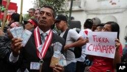 El fiscal general dePerú, Pedro Chávarry, dijo que su renuncia busca garantizar la independencia del Ministerio Público.