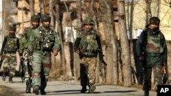 喀什米爾氣氛緊張。