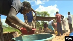 Mining for gold in Zimbabwe.