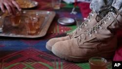 یک نظامی امریکایی در ماه اپريل در ولایت لوگر کشته شد