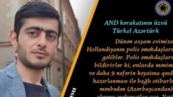 Türkel Əlisoy: Polis təhlükə ilə bağlı ailəmizi xəbərdar edib