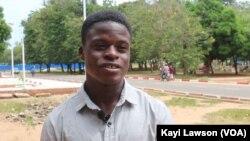 Marcel Amenkey, Lomé, le 13 novembre 2019. (VOA/Kayi Lawson)