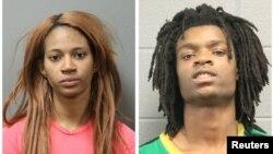 Sebuah foto kombinasi menunjukkan dua dari empat orang yang didakwa dengan tindak pidana berat akibat pemukulan seorang pria dengan masalah kesehatan mental. (Foto: dok).
