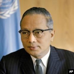 吴丹在1961年-1971年为联合国第三任秘书长。