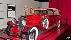 This elegant 1930 Duesenberg J is on display at the Auburn Cord Duesenberg Museum in Auburn, Indiana.