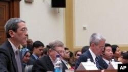 '중국의 행동이 미국의 이해에 미치는 영향' 이라는 주제로 미 연방 하원 외교위원회가 주최한 청문회에 참석한 증인들