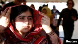 FILE - Pakistani teenage activist Malala Yousafzai.