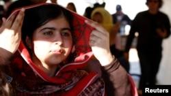 巴基斯坦为争取女孩权益活动人士马拉拉