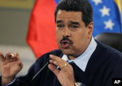 FILE - Venezuelan President Nicolas Maduro