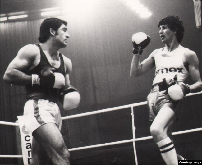 Marijan Beneš, bokser poetske duše (Fotografiju ustupio Željko Tica)