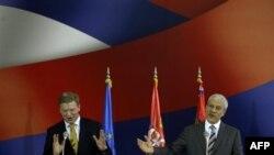 Fyle: Serbia ka bërë një hap të ri në rrugën për anëtarësim në BE