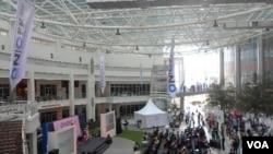 Pertemuan para blogger yang bertempat di Epicentrum Rasuna, Jakarta hari Sabtu pagi hingga sore (3/12).