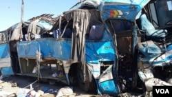 د کابل - کندهار په لویه لار یوه ترافیکي پیښه د ۲۷ کسانو د مرگ او ۳۲ کسانو د ټپي کیدو سبب شوه.
