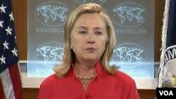 Menlu AS Hillary Rodham Clinton menyatakan optimis dengan perubahan politik di Burma.