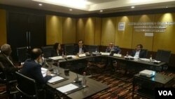 Dewan ASEAN Parliamentarians for Human Rights APHR dalam pertemuan di Bangkok, 3-4 Februari 2016.