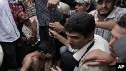 이집트 카이로 시위현장
