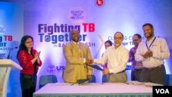 Signing ceremony of the TB statement