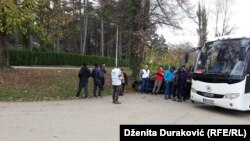 Migranti i izbjeglice, Bihać, 26. oktobar 2018.