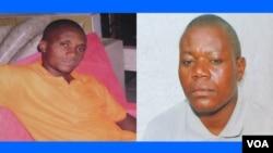 Alves Kamulingue e Isaías Cassule, desaparecidos desde finais de Maio de 2012 (montagem de fotos cedidas pelas famílias)