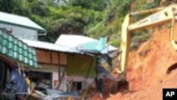 فلپائن: مٹی کا تودہ گرنے سے 25 ہلاک، 100 لاپتا
