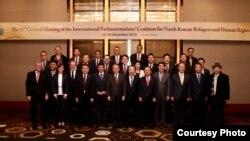 북한 자유이주민·인권을 위한 국제의원연맹(IPCNKR)이 22일 서울 콘래드 호텔에서 제15차 총회를 개최했다. IPCNKR 사진제공.