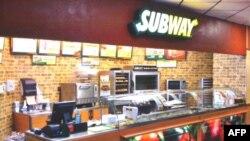 Một cửa hàng bánh sandwich Subway ở bang Texas, Hoa Kỳ