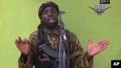 Pemimpin Boko Haram, Abubakar Shekau mengancam akan mengganggu pemilu Nigeria bulan depan (foto: dok).