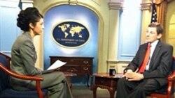 VOA's Lina Rozbih interviews Ambassador Marc Grossman