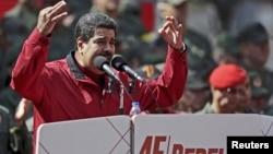 委内瑞拉总统马杜罗。