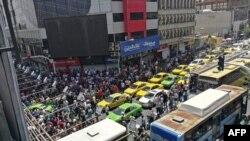 در شش ماه اخیر چند بار بازاریان به اعتراض تجمع کردند که با سرکوب نیروهای امنیتی و پلیس روبرو شد