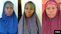 A'isha Kabiru, Hafsat Usman Bako, zuwa Zainab Idris, daya daga cikin mata 3 da sojojin Najeriya suka kama bisa zargin cewa su 'ya;yan kungiyar Boko Haram ne.
