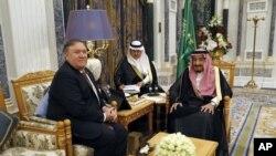 وزیر خارجه آمریکا این هفته دیدارهایی با مقامات عربستان و ترکیه داشت.