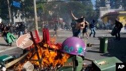 Sukobi demonstranata i policije u Sao Paolu, 12. jun 2014.