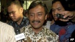 Ministro indonésio da juventude e desporto,Andi Alfian Mallarangeng