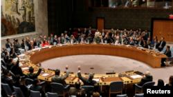 اقوام متحدہ کی سلامتی کونسل میں یروشلم کے بارے میں مصر کی طرف سے پیش کردہ قرارداد پر رائے شماری ہو رہی ہے