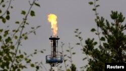 Нефтеперерабатывающий завод в Мозыре на южной ветке нефтепровода «Дружба», Беларусь, 11 сентября 2013 года
