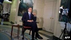 奥巴马总统每周例行讲话谈教育改革