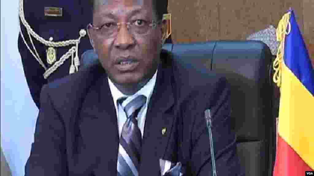 Shugaban kasar Chadi, Idriss Deby. Shuwagabannin Najeriya da Chadi, Nijar dakuma Kamaru Zasu Yaki Boko Haram, Oktoba 9, 2014.