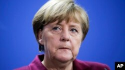 Thủ tướng Đức Angela Merkel.