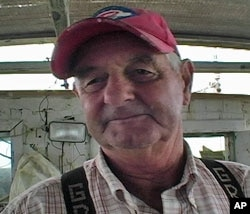 Chesapeake Bay waterman John Freeman from Hampton, Virginia, has seen a dramatic decline in blue crabs compared to when he started crabbing 66 years ago. Today half of the 10,000 watermen are part timers.