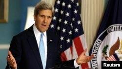 د امریکا د بهرنیو چارو وزیر جان کېري